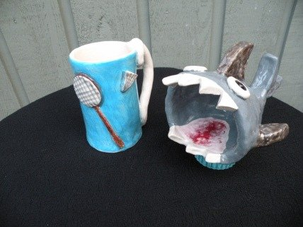 Kate and Kims Shark Mug