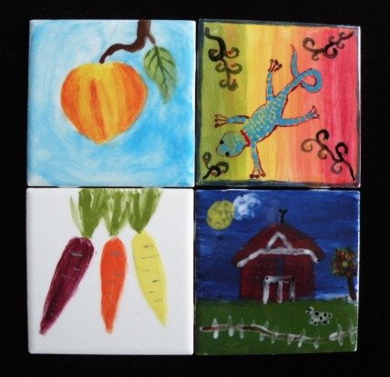 Tile painting examples web